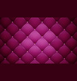 purple leather banner vector image vector image