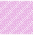 seamless pattern with inscription Happy Birthday vector image vector image