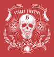 Street fighting club emblem vector image vector image
