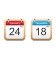 Calendar 2013 icon vector image vector image