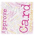Instant Approval Credit Cards Online How They Work vector image vector image