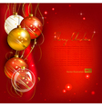 Red christmas background vector | Price: 3 Credits (USD $3)