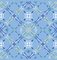 square quilt tile seamless pattern hand vector image