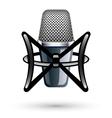 studio condenser microphone vector image vector image