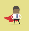 super african businessman vector image
