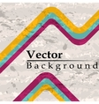 Three line grunge background vector image vector image