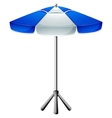 A big beach umbrella vector image vector image