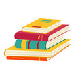book icon books in various angles vector image