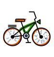 cartoon image of bicycle icon bike symbol vector image vector image