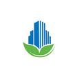 Eco building logo
