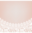 lace bridal dress vector image vector image