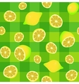lemons seamless pattern vector image