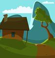 Mountain Cabin vector image vector image