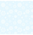 pattern snowflakes vector image vector image