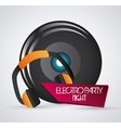 Speaker and headphone icon Dance and Music design vector image vector image