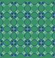 square circle quilt tile seamless pattern vector image vector image