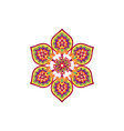arabic flower ornament floral background abstract