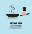 Cooking With Frying Pan vector image