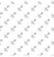 difficult filming pattern seamless vector image