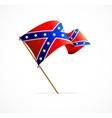flag confederate vector image vector image
