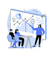 managers workshop abstract concept vector image vector image