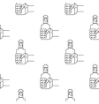 pattern icons of the electronic cigarette vector image vector image