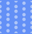 snow flakes seamless winter christmas decorative vector image