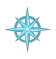 Wind rose - compass star vector image vector image