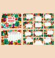 back to school month calendar vector image vector image