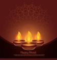 Beautiful diwali diya festival background