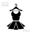 Corset Simple Icon vector image