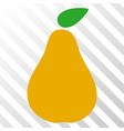 pear eps icon vector image