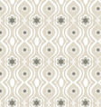Seamless patterns flowers vector image