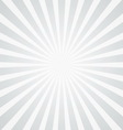 white rays background vector image vector image