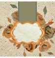 Art floral vintage colorful background EPS 8 vector image