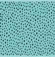 contemporary polka dot shapes seamless pattern in vector image