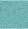 contemporary polka dot shapes seamless pattern vector image
