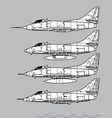 douglas a-4 skyhawk vector image
