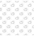 farm eggs pattern seamless vector image vector image