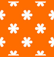 flower pattern seamless vector image