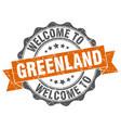 greenland round ribbon seal vector image vector image