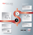 Magnet for Abstract business infographic backgroun vector image vector image