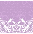 Seamless Floral Pattern with Butterflies vector image vector image