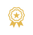 star badge icon design template vector image vector image