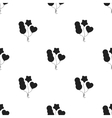 Baloons icon in black style isolated on white vector image vector image