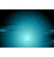 Dark blue grunge wavy background vector image vector image