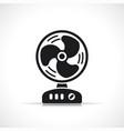 fan symbol icon design vector image vector image
