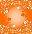 flower ornament vector image