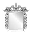 imperial baroque mirror frame french vector image vector image