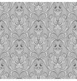 seamless black white wallpaper pattern vector image